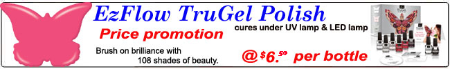EzFlow TruGel Gel Polish
