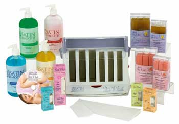 Satin Smooth Nice N Neat Roll On System Kit