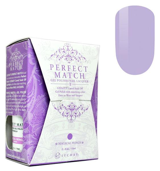 New Formula Gel Nai Polish Quick Dry No Uv Needed Easy: LeChat Perfect Match Gel Polish & Nail Lacquer Magical