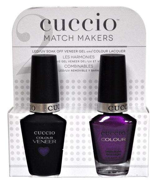 Cuccio Gel Polish: CUCCIO Gel Color MatchMakers Grape To See You