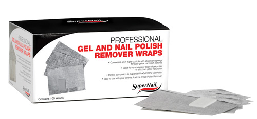 Gel Wrap Nails Nail Polish Remover Wraps