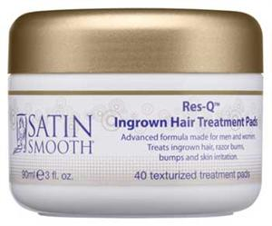 Satin Smooth Res Q Ingrown Hair Treatment Pads 40 Ct