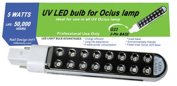 LED UV Replacement 5 Watt Bulb - work for Magnetic ballast Ocius ...