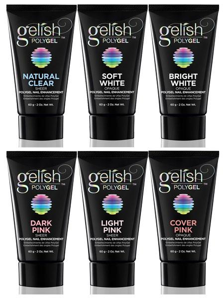 Gelish Polygel Nail Enhancement