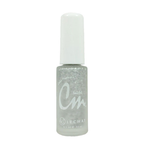 Cm Nail Art Paint Silver Glitter