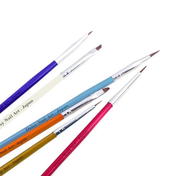 Daisy Nail Art Brush Set 6 Pc
