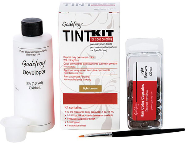 Godefroy Eyebrow Tint Kit - Light Brown