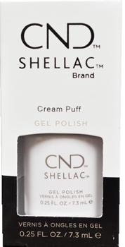 Cnd Shellac Gel Polish Cream Puff 25 Fl Oz