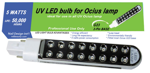 Led Uv Replacement 5 Watt Bulb Work For Magnetic Ballast Ocius