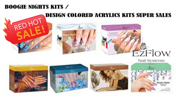 EzFlow Boogie Nights & Design Colored Acrylic Kit Sale!!!