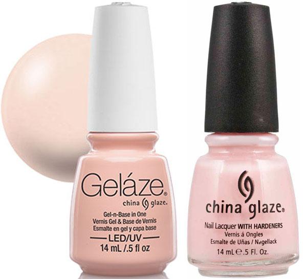 Gelaze Gel Polish & Nail Lacquer DUO Innocence - .5 fl oz
