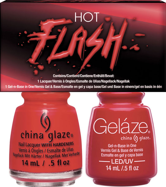 Gelaze Tip & Toes Kit - Gel Polish & Nail Lacquer Red-y To Rave .5 ...