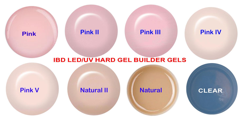 ibd LED/UV Builder Gel Pink II (cool pink) - 56 g / 2oz