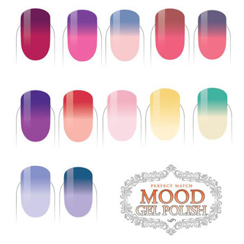 LeChat Perfect Match Mood Gel Polish 2017 Collection 49 60