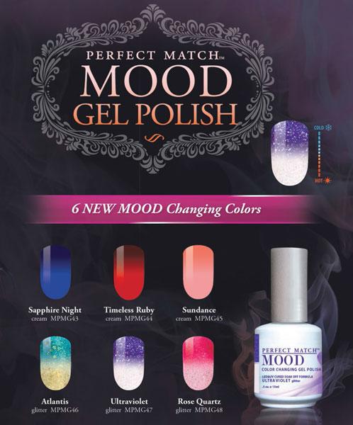 Lechat Perfect Match Gel Polish Mood 2016 Mood Collection