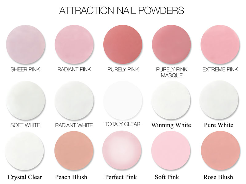 NSI Attraction Nail Powder - 700 g / 24.7 oz