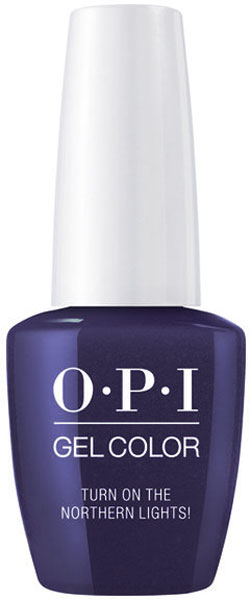 Opi Gelcolor Soak Off Soluble Turn On The Northern Lights