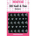 3-D Nail & Toe Stickers